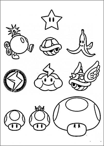Dibujos Para Colorear Mario Bross 17