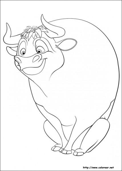 Dibujos De Ferdinand Para Colorear En Colorear Net