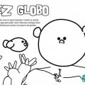 Dibujo De Pez Globo Para Colorear