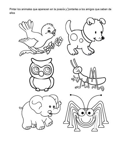 Los Animales, Material Educativo Para Niños  Abril 2017