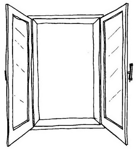 Imagenes De Puertas Y Ventanas Para Colorear
