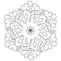 Rangolis Para Colorear