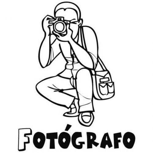 Dibujos Del Día Nacional Del Fotógrafo Para Pintar