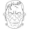 Frankenstein Dibujos Para Colorear