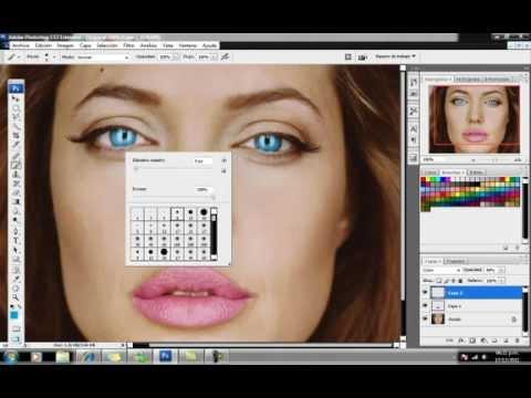 Pintar Ojos Y Labios Con Photoshop Cs3
