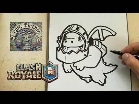 Como Dibujar Al Dragon Infernal