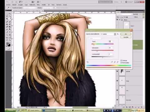 Colorea Tus Ilustraciones Con Photoshop