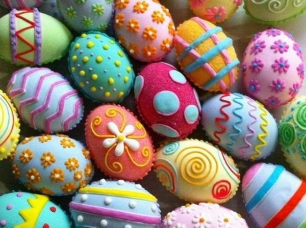 Ideas Para Decorar Huevos De Pascua Con Los Niños