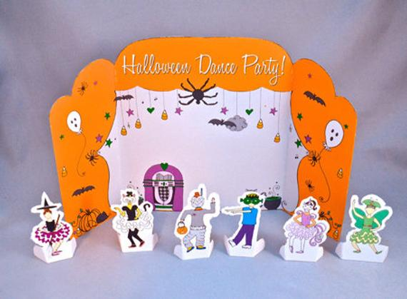 Halloween Dance Party Playtime Tableau Set Pdf Download