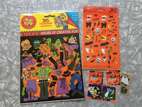Lot Of 90's Halloween Stickers