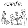Palabra Jesus Para Colorear