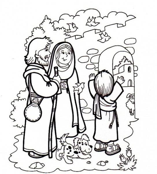 Pintar El Niño A Jesus Perdido