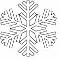 Copos De Nieve Dibujos Para Colorear