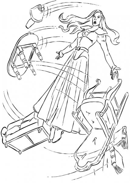 Dibujos Para Colorear Jean Grey