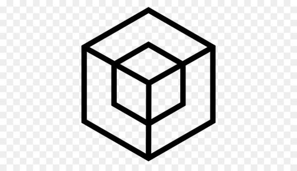 Libro Para Colorear, El Cubo De Rubik, Color Imagen Png