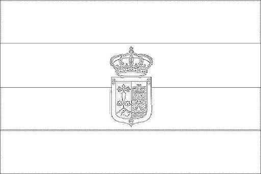 Banderas De EspaÑa Para Colorear Banderas Comunidades Autonomas De