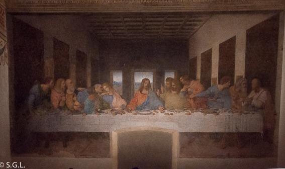 Andén 27  La Última Cena De Leonardo Da Vinci
