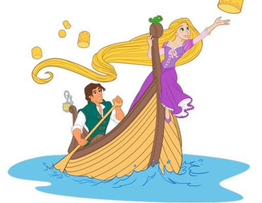 Juego Colorea Online A Rapunzel
