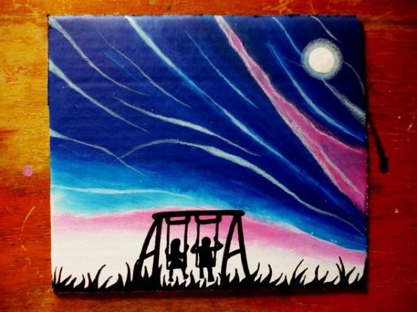 Noche De Aurora Boreal