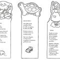 Marcapaginas Infantiles Para Colorear