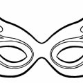 Modelos De Mascaras De Carnaval Para Colorear
