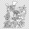 Figuras Precolombinas Para Colorear