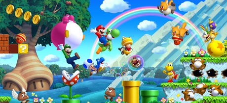 Dibujos Para Colorear De New Super Mario Bros Wii