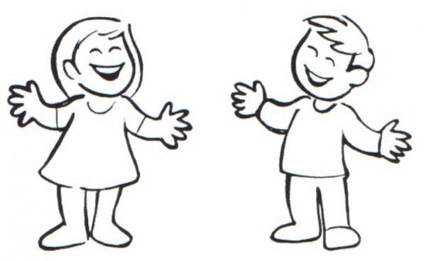 Imágenes De Dos Niños Hablando