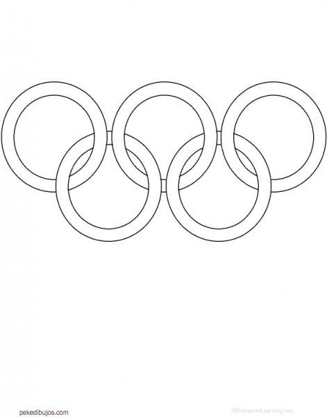 Dibujos De Los Juegos Olímpicos Para Colorear
