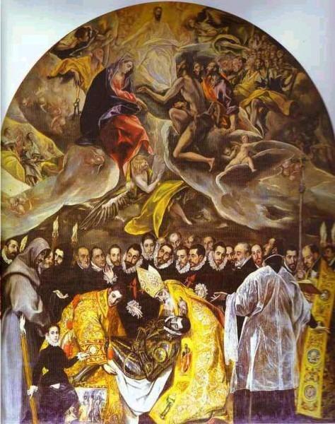 El Entierro Del Conde De Orgaz – El Greco – Artedivague