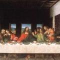 La Ultima Cena De Leonardo Da Vinci Para Colorear
