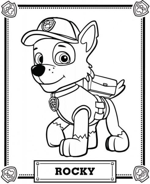 Fantasy Store Patrulla Canina Mesa Para Colorear  Paw Patrol