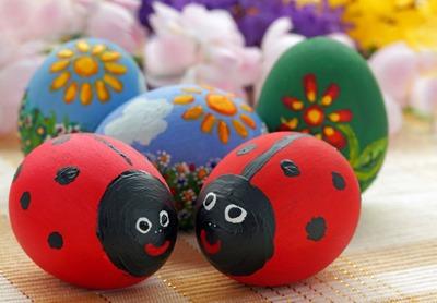 Huevos De Pascua Decorados Faciles