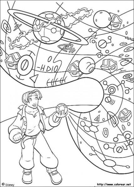 Dibujos Para Colorear De El Planeta Del Tesoro