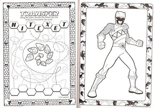 Power Rangers Dino Charge Jumbo Para Colorear