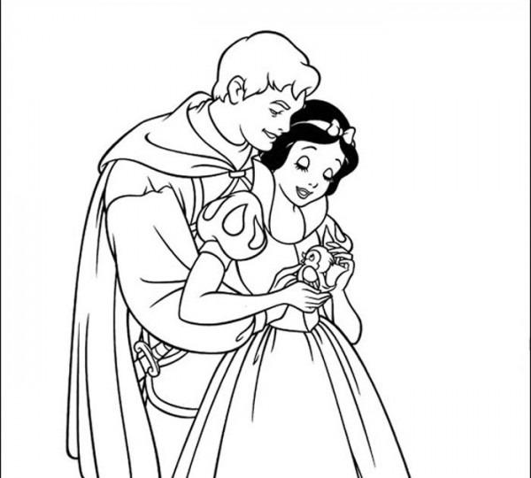 Princesas Disney  Más Dibujos Para Colorear De  Blancanieves