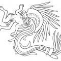 Imagenes De La Cultura Azteca Para Colorear