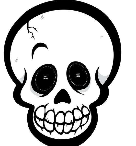 Recortables De Dibujos De Halloween