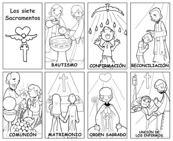 Dibujos Catequesis (colorear)