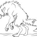 Dibujos De Hombre Lobo Para Colorear