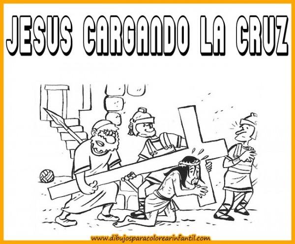 Dibujos De Semana Santa Para Descargar Y Pintar En Familia