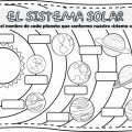 Sistema Solar Para Ni?os Colorear