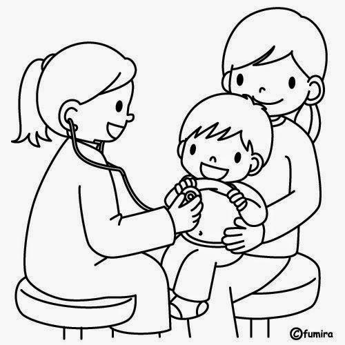 Imagenes Para Colorear Sobre Salud Infantil