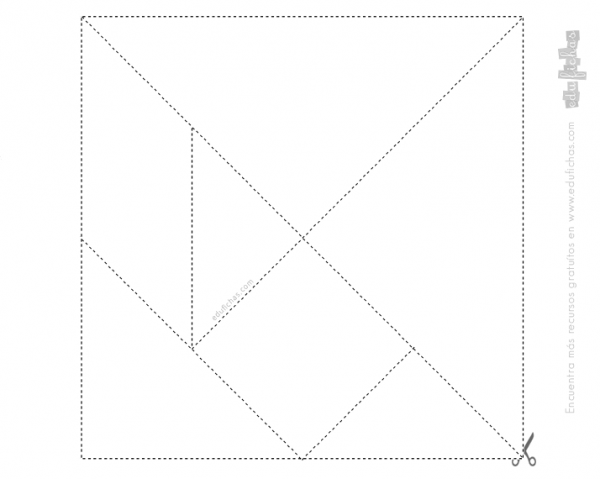 ▷ Tangram Para Imprimir