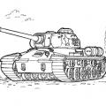 Dibujos De Tanques Para Colorear