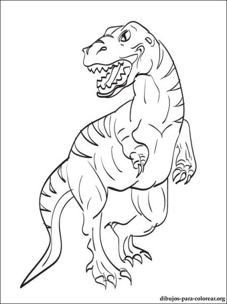 Dibujo De Velociraptor Para Colorear E Imprimir