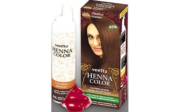 Venita Henna Color Mousse Espuma De Tinte Para El Cabello Con