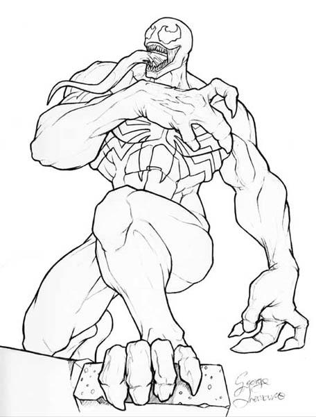 Colorear Venom Online