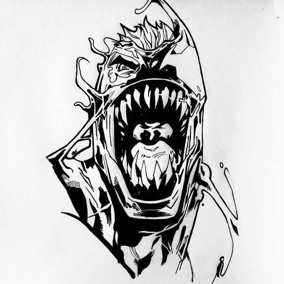 Venom Para Colorear 2020